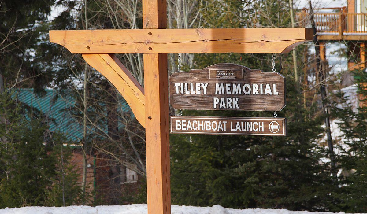 Tilley Park Sign