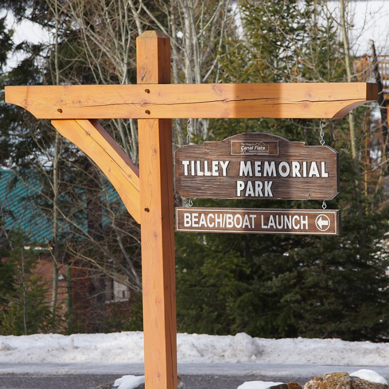Tilley Park Sign